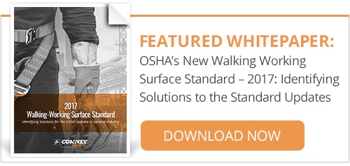 Featured Whitepaper: OSHA's New Walking Working Surface Standard - 2017