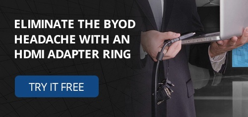 Eliminate the BYOD Headache with an HDMI Adapter Ring