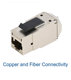 Copper and Fiber Connectivity