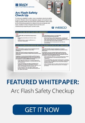 Featured Whitepaper: Arc Flash Safety Checkup