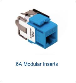 6A Modular Inserts