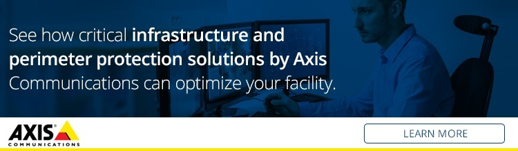 See how critical infrastructure and perimeter protection solutions by Axis Communications can optimize your facility.