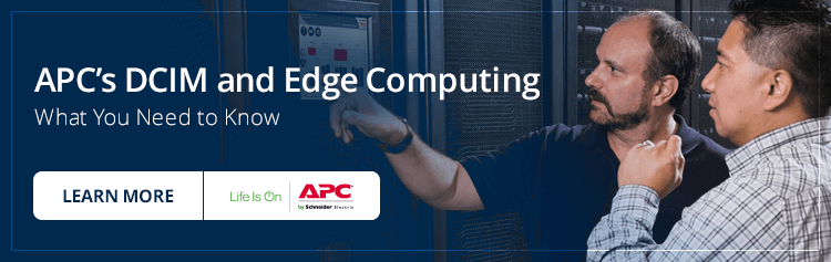 APC's DCIM and Edge Computing