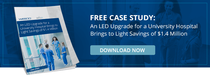 Free Case Study: LED Retrofit Brings Savings to Light for Healthcare Facility