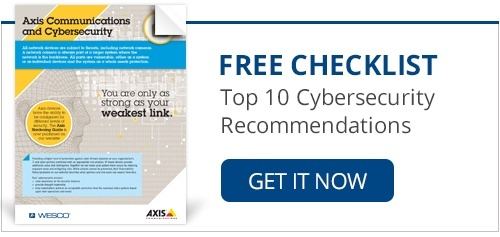 Free Checklist: Top 10 Cybersecurity Recommendations