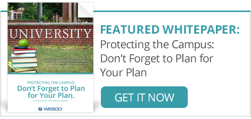 Download Our Campus Security White Paper Now