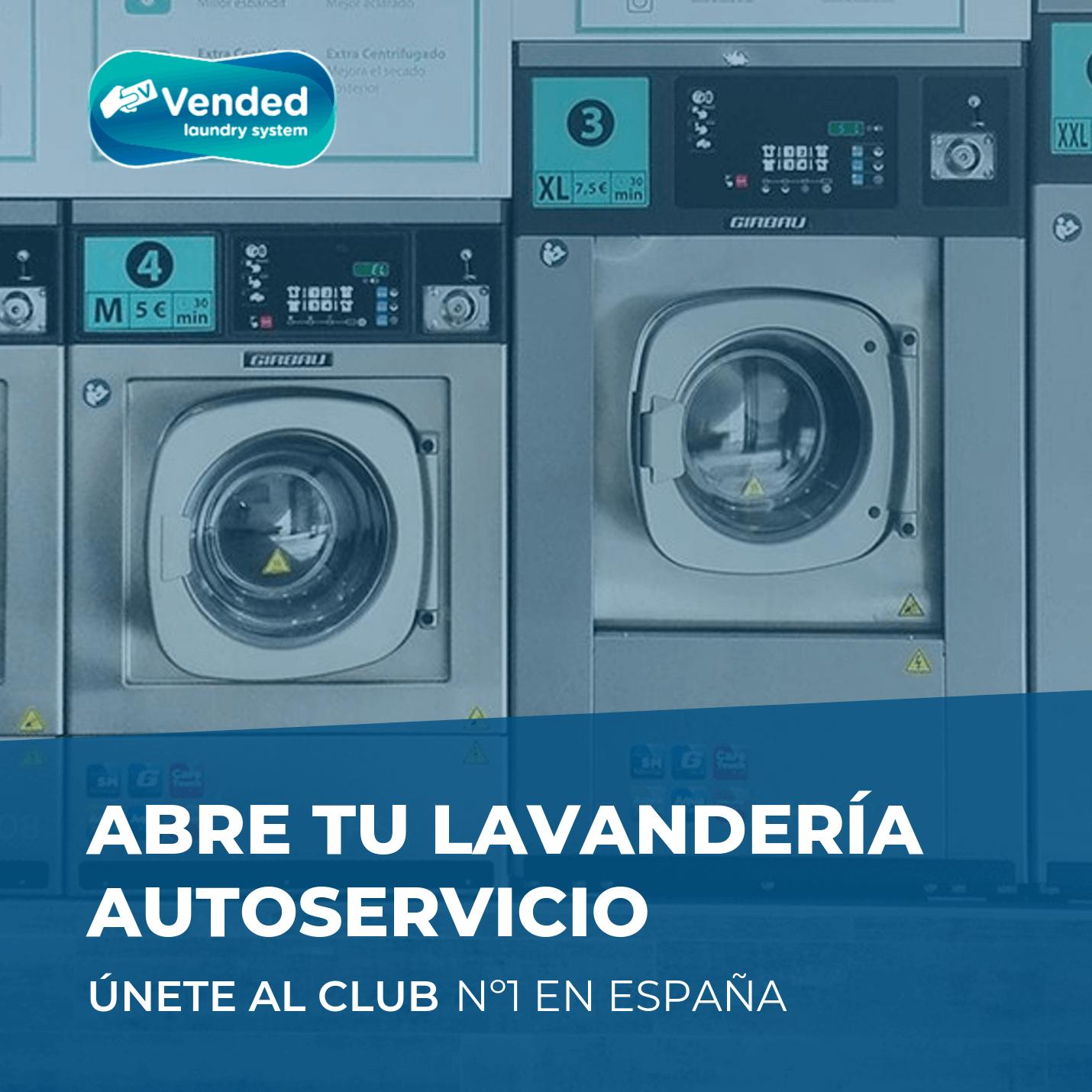 Abre tu lavandería autoservicio