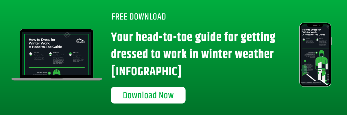Your head-to-toe guide for getting dressed to work in winter weather