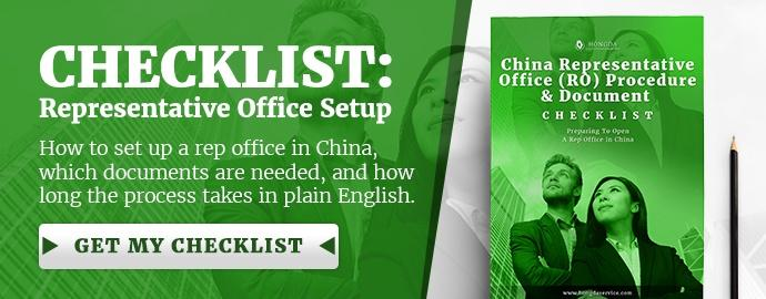 Representative Office Checklist