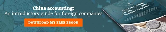 China accounting: An introductory guide for foreign companies