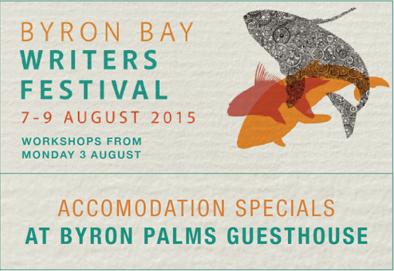 BYRON BAY WRITERS FESTIVAL ACCOMMODATION SPECIAL OFFER