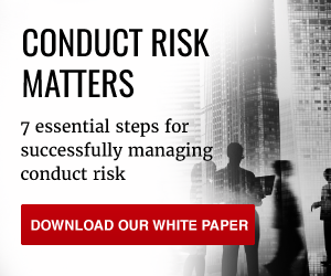 Download Templar's eBook: 7 essential steps for successfully managing conduct risk