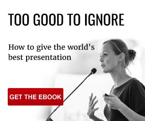 Too good to ignore - download our presentation checklist