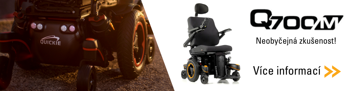 Q700 Elektrický vozík - zadní pohon