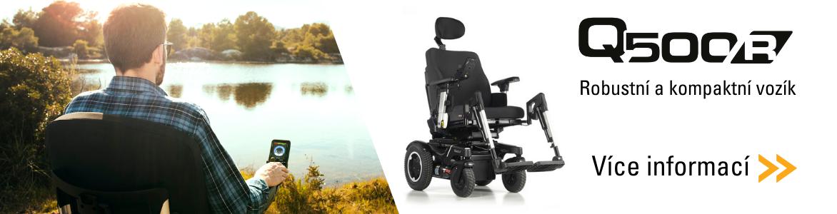 Q500 Elektrický vozík - zadní pohon