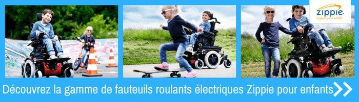 Zippie fauteuils roulants electriques pour enfants