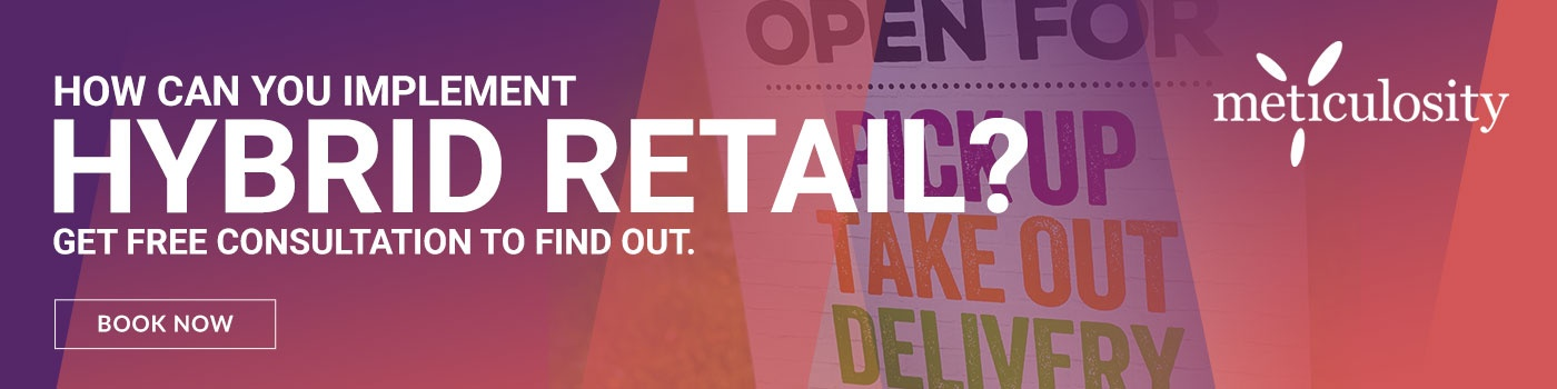 How can you implement hybrid retail?