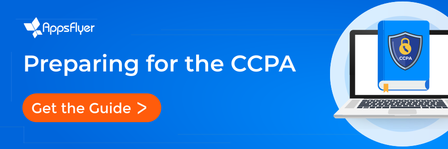 AppsFlyer CCPA Readiness