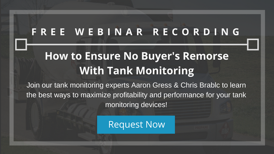 Buying Tank Monitoring for Propane