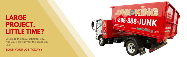 book your junk removal job