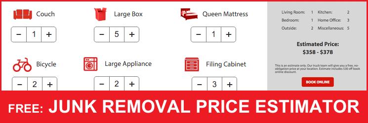 Free Junk Removal Price Estimator
