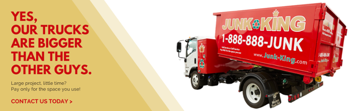 bigger junk removal trucks