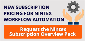 Nintex Subscription Overview