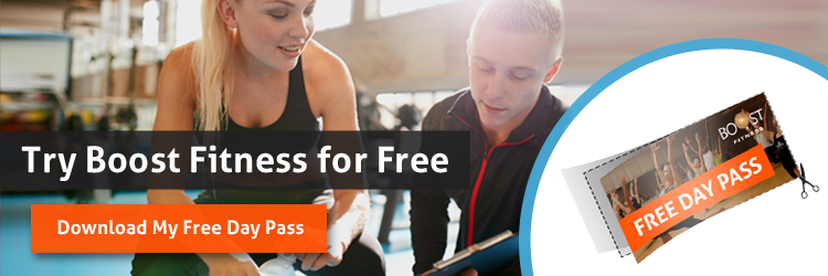 get free day pass for boost fitness