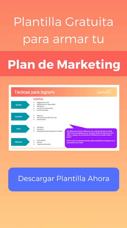 Plantilla de Plan de Marketing