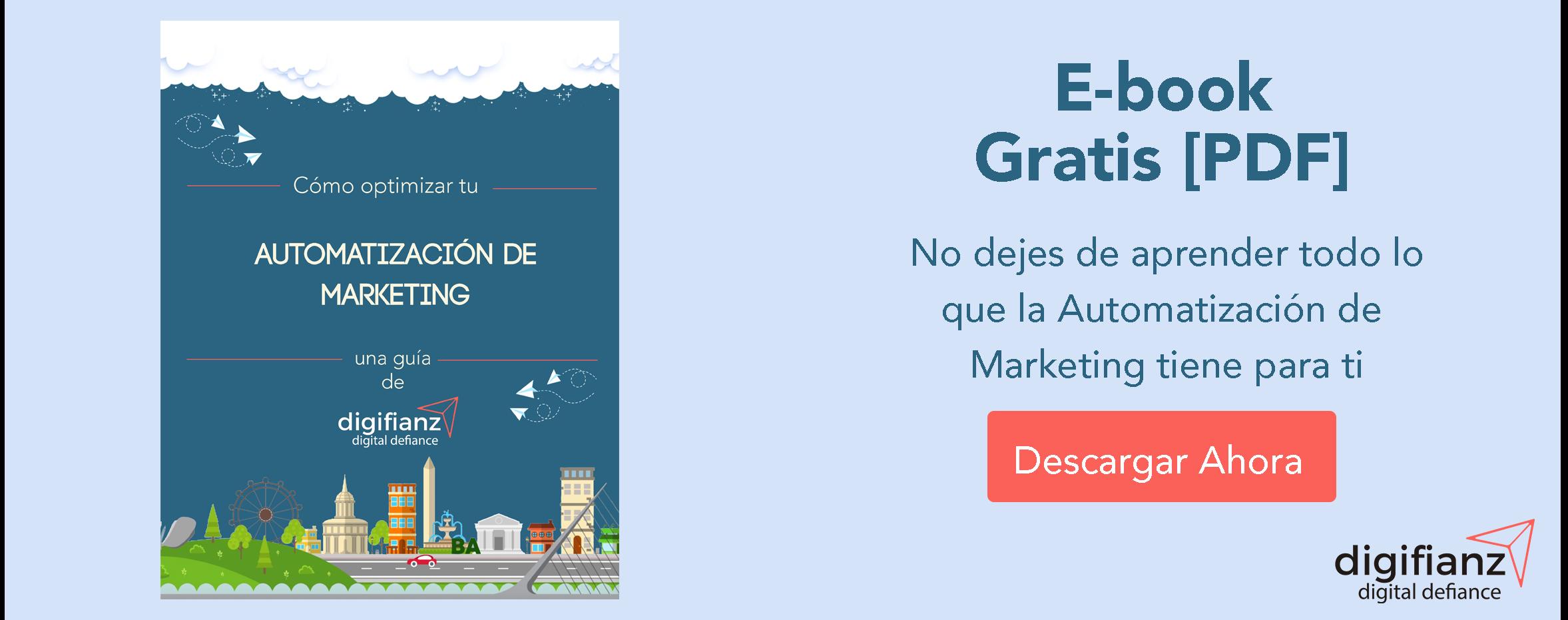 E-book Automatización de Marketing