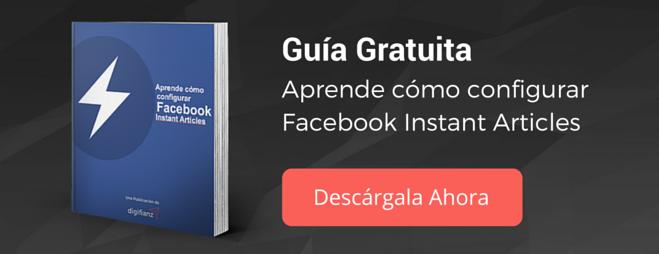 Guía Fabebook Instant Articles