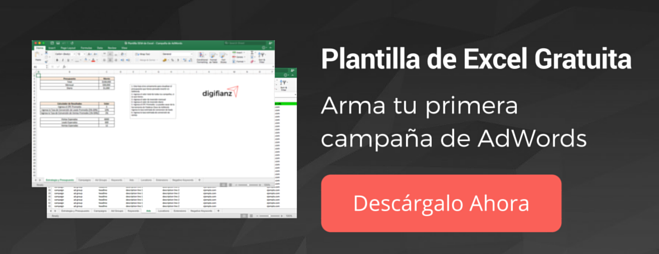 Plantilla de Adwords