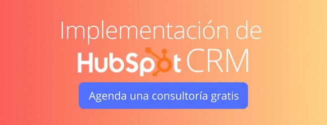Implementacion HubSpot CRM