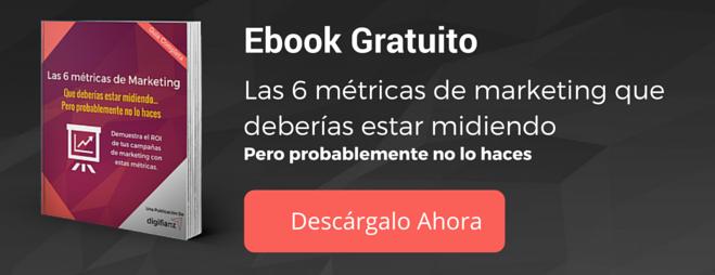 Ebook de metricas de marketing que deberias estar midiendo