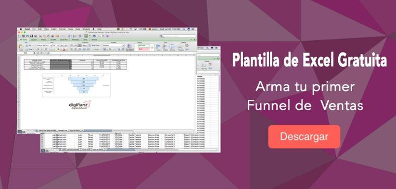 Plantilla Funnel de Ventas