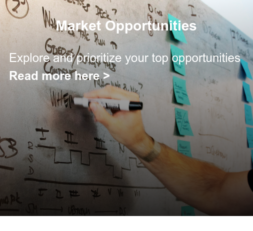 Market Opportunities  Explore and prioritize your top opportunities  Read more here >