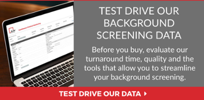 Test Drive SJV Background Screening Data