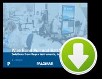 Wire Bond Pull \u0026amp\u003B Ball Shear Testing eBook