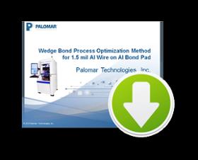wedge bond, webinar, aluminum wire, bond pads, process optimization