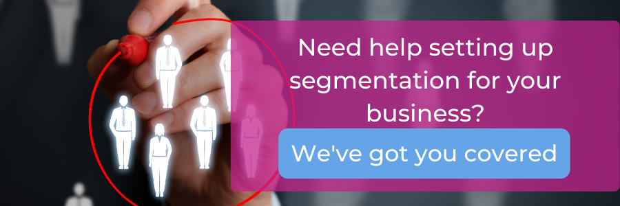 Let us help you with segmentation