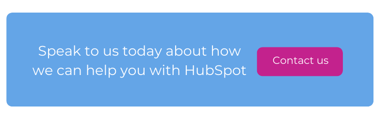 speak to us today about how we can help you with hubspot