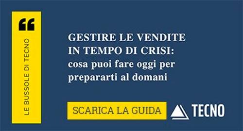 Scarica la Guida Gestire le vendite in tempo di crisi