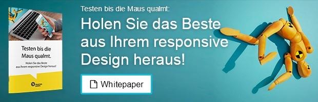 Responsive Design testen!