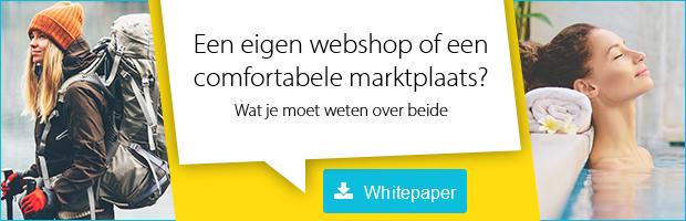 Tip: Klik hier om de gratis whitepaper te downloaden over wat je moet weten over een eigen webshop vs. een marktplaats.