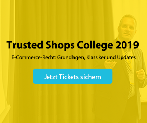 Trusted Shops College 2019