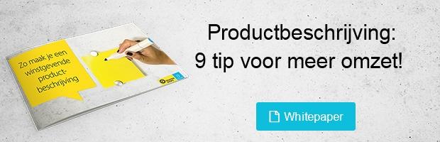 Gratis whitepaper download productbeschrijving