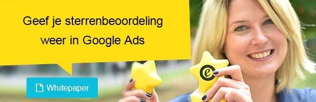 Google Ads sterren weergeven