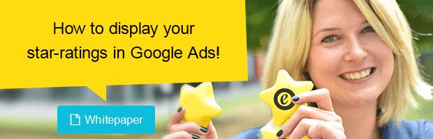 Star ratings in Google AdWords