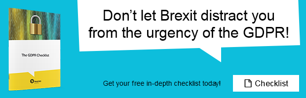 Trusted Tips: If you're not GDPR compliant, this could have a huge impact on  your business as well. Download our GDPR checklist for free to learn more!