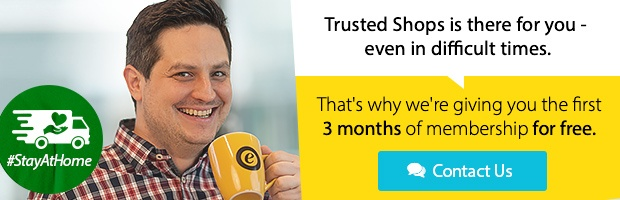 3 months free limited offer Trusted Shops